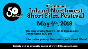 8th Annual Short Film Festival, May 4th 2018, at the Bing Crosby Theater